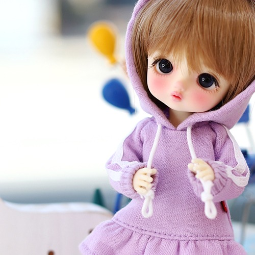 16CM Line  One-piece-Purple