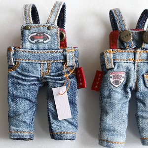OB11 Washing Overalls Jeans - Blue