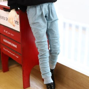 SD17 Stone washing Jogger pants - Sky
