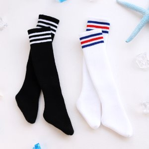 MSD Three Line Sock - long