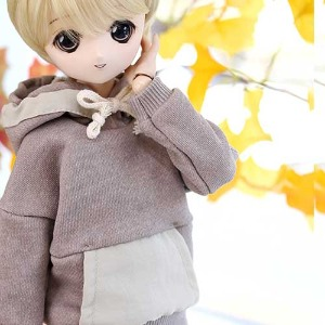 MSD & MDD Pigment Coloration Hooded -Beige